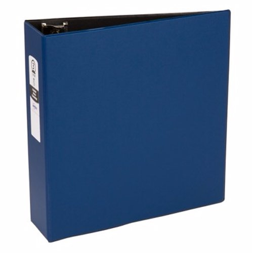 "Avery 3"" Blue Economy Round Ring Binders 12pk (AVE-03601) Image 1"
