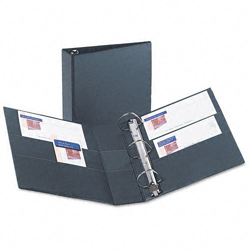 "Avery 3"" Black One Touch Heavy Duty EZD Binders 4pk (AVE-79983) Image 1"