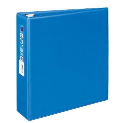 "Avery 3"" Blue One Touch Heavy Duty EZD Binders 4pk (AVE-79883) Image 1"