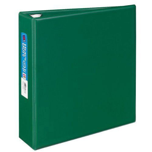 "Avery 3"" Green One Touch Heavy Duty EZD Binders 4pk (AVE-79783) Image 1"