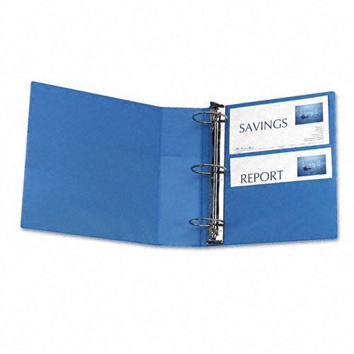 "Avery 3"" Light Blue Non-Stick Heavy Duty View Binders 4pk (AVE-05601) Image 1"