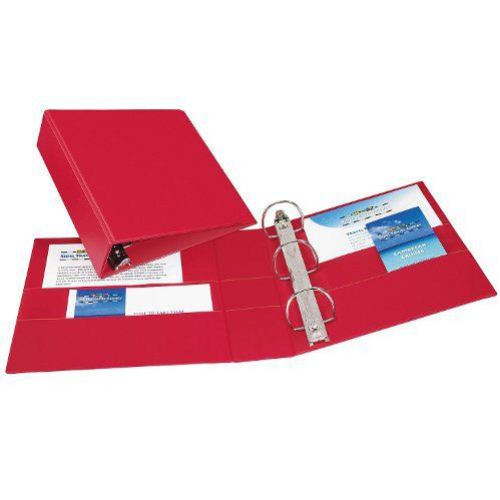 "Avery 3"" Red Durable Slant Ring Binders 6pk (AVE-27204) Image 1"