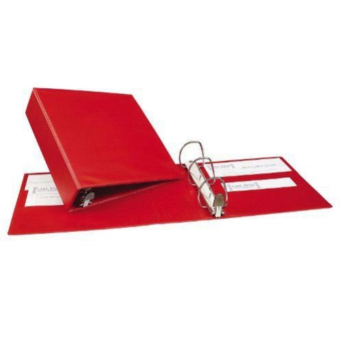 "Avery 3"" Red One Touch Heavy Duty EZD Binders 4pk (AVE-79583) Image 1"