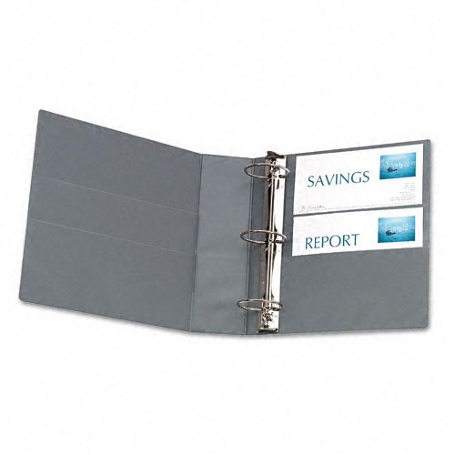 Shadow Gray Avery Ring Binders