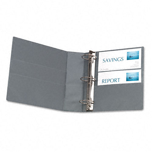 "Avery 3"" Shadow Gray Non-Stick Heavy Duty View Binders (4pk) (AVE-05603) Image 1"