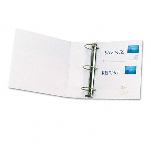 "Avery 3"" White One Touch Plain Package EZD View Binders 4pk (AVE-79193) Image 1"