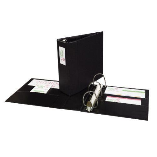 "Avery 4"" Black One Touch EZD Binders with Label Holders 4pk (AVE-79994) Image 1"
