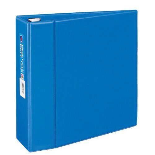 "Avery 4"" Blue One Touch Heavy Duty EZD Binders 4pk (AVE-79884) Image 1"