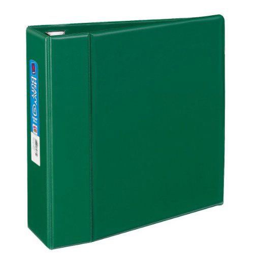 "Avery 4"" Green One Touch Heavy Duty EZD Binders 4pk (AVE-79784) Image 1"