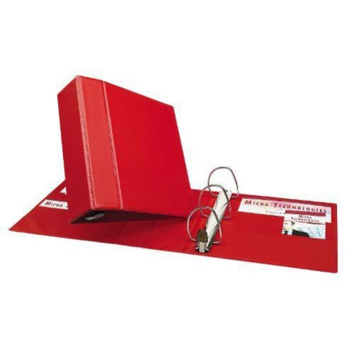 "Avery 4"" Red One Touch Heavy Duty EZD Binders 4pk (AVE-79584) Image 1"