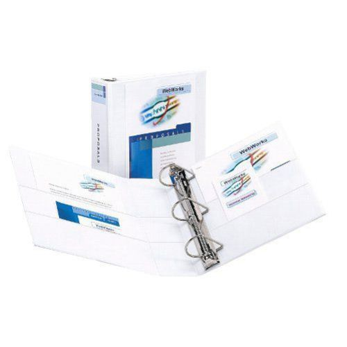 "Avery 4"" White Durable View Binders with EZD Rings 6pk (AVE-09801)"