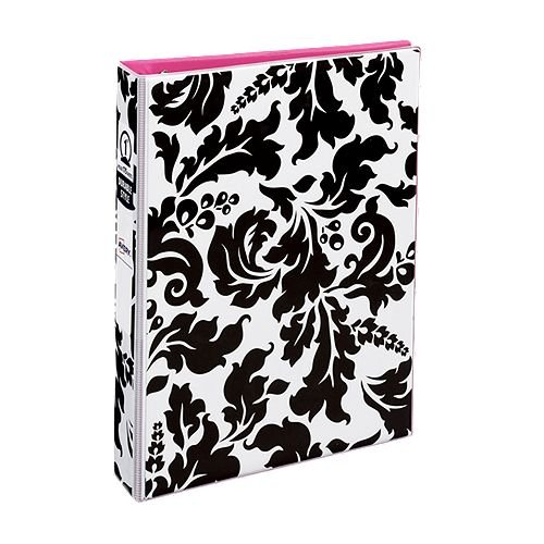 "Avery 5.5"" x 8.5"" Mini Durable Style Damask 1"" Round Ring Binders 6pk (AVE-18700) Image 1"