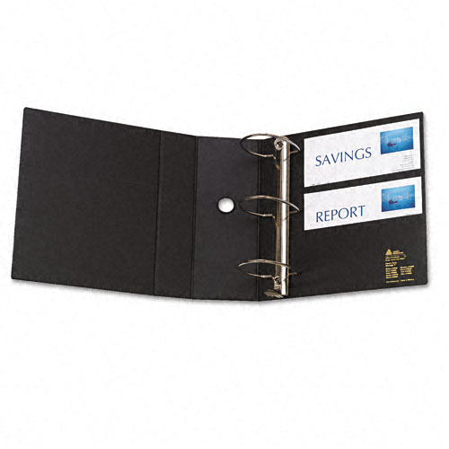 "Avery 5"" Black One Touch EZD Binders with Label Holders 2pk (AVE-79996) Image 1"