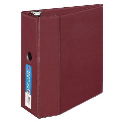 "Avery 5"" Maroon One Touch Heavy Duty EZD Binders 2pk (AVE-79366) Image 1"