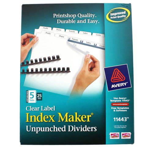 Index Dividers Maker Image 1