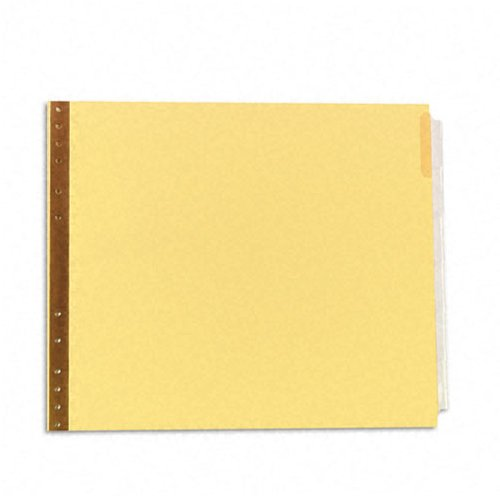 Avery 6-tab 9.5x11 Clear Data Binder Top Insertable Tabs (AVE-11730), Index Tabs Image 1