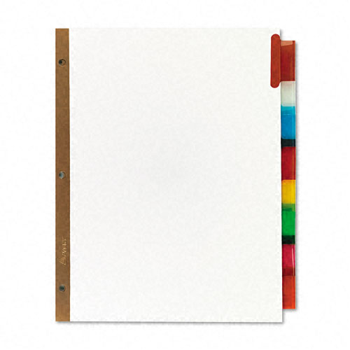 Blank Paper with Reinforced Holes Image 1