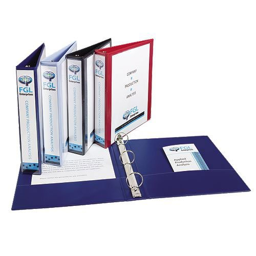 Avery Assorted Show-Off Economy View Binders (12pk) (AVESOEVBASS) Image 1