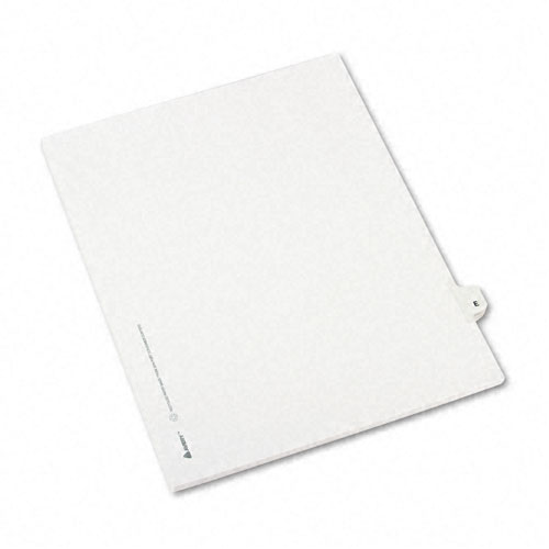 Avery E Individual Legal Index Style Dividers (AVE-01405)