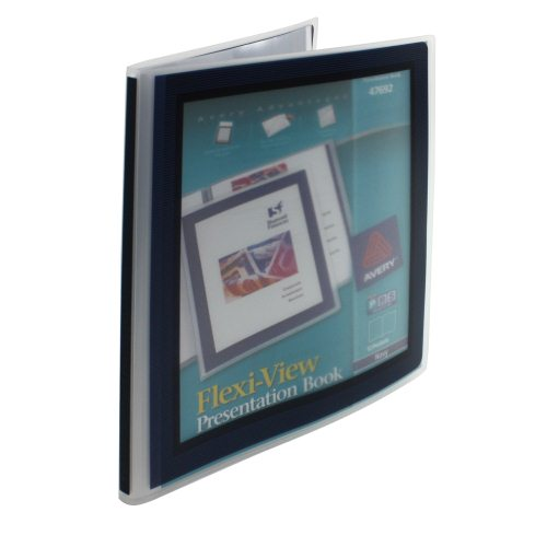 Avery Flexi-View Presentation Book Blue 12pg (AVE-47692) Image 1