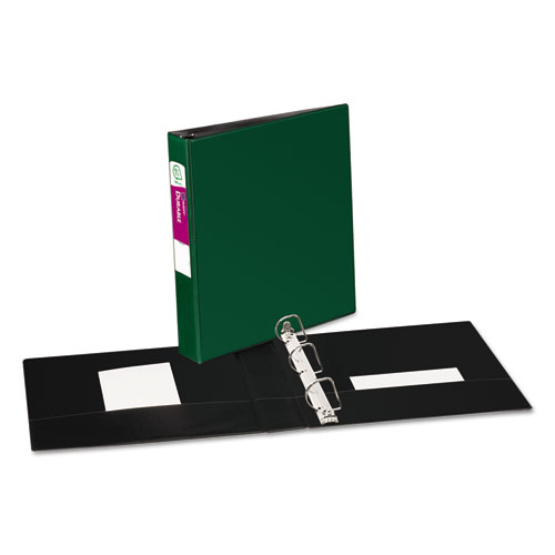 Avery Green Durable Slant Ring Binders (AVEDUEZBGN) Image 1