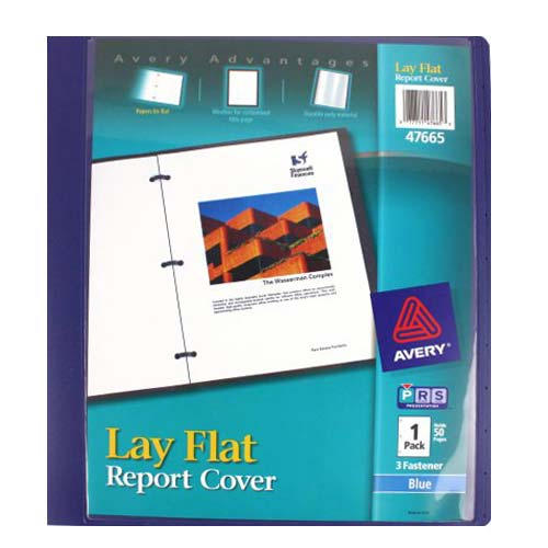 Colored Plastic Report Covers Image 1