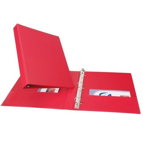 Avery Red Durable Slant Ring Binders (AVEDUEZBRD) Image 1