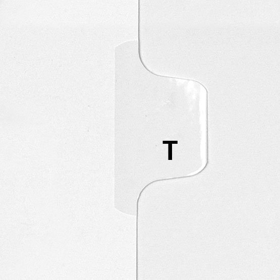 T - Avery Style Letter Size Side Tab Legal Indexes - 25pk (HCM18720) Image 1