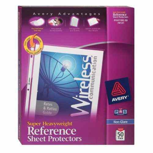 Avery Super Heavyweight Sheet Protectors Non-Glare 50pk (AVE-74131) Image 1