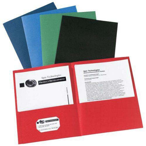 Avery Assorted Two-Pocket Folder Assorted 25pk (AVE-47993) Image 1