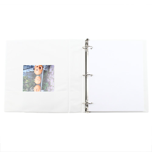 Avery White Economy Showcase View Binders (12pk) (AVEESVBWH) Image 1