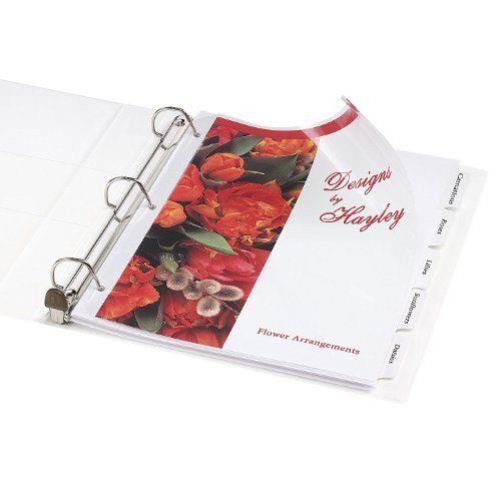 Extra Wide Binder Dividers Image 1