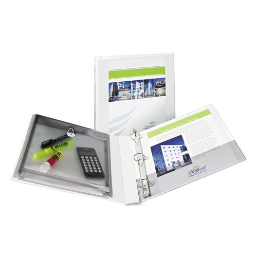 Avery White Protect and Store View Binders (12pk) (AVEPSVBWH) Image 1
