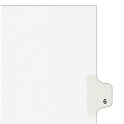 Individual Legal Index Style Dividers