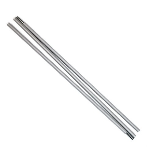 """Drytac 61.25"""" Silver Replacement Pole for 23"""" Banner Bug Banner Stand (DU180840) Image 1"""