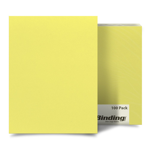 "Bashful Banana 8.5"" x 14"" Card Stock Covers - 100pk (MYCS8.5X14BA) - $28.52 Image 1"