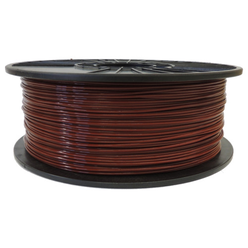 Bay Horse Brown 3mm PLA Filament 2.5LB Spool (BHBPLAFSPOOL3) Image 1
