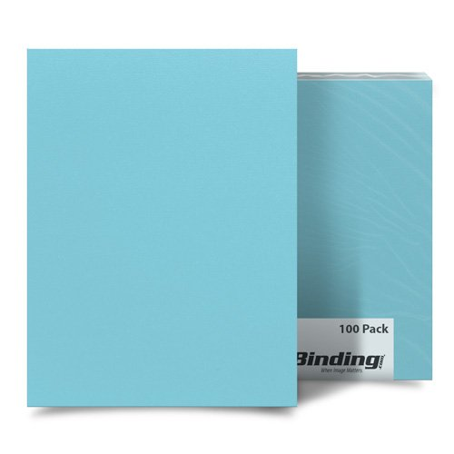 "Beautiful Blueberry 9"" x 11"" Card Stock Covers - 100pk (MYCS9X11BB) Image 1"