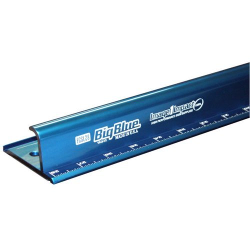 Big Blue Safety Ruler - Metric Sizes (ECSLM) Image 1