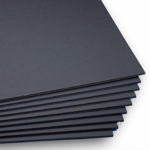"Black 1/2"" Foam Core 48"" x 96"" Mounting Boards - 12pk (550391B) Image 1"