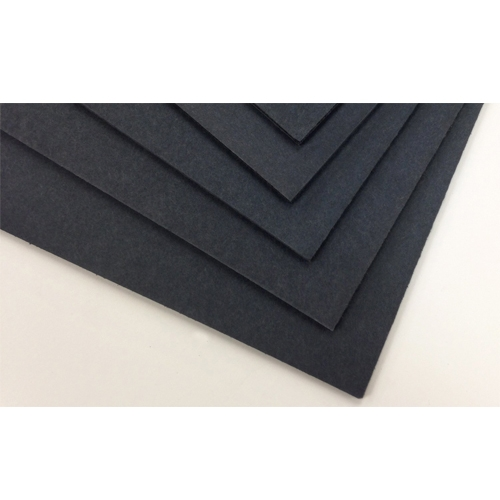 "Black 3/16"" Gator Foam Mounting Boards 11"" x 17"" - 10pk (SGP-BG1117) Image 1"