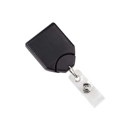 Black B-REEL No-Twist Badge Reel With Swivel Belt Clip - 25pk (MYID21208001) - $47.09 Image 1