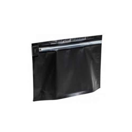 "SealerSales Black Small Child Resistant Bags (6.69"" x 4"" x 2.36"") - 50pk (CRB-642-03), Packaging Equipment Image 1"