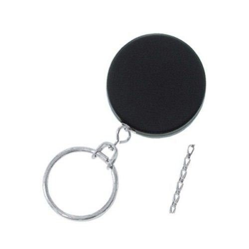Black Heavy Duty Badge Reel with Chain Cord - 25pk (2120-3325) Image 1