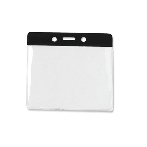 Horizontal Vinyl Color Bar Badge Holder Image 1