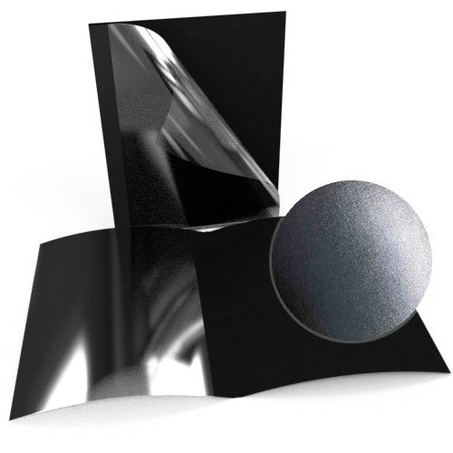 "5/8"" Black Leatherette Regency Clear Front Thermal Covers - 100pk (SO800T580BKC) Image 1"