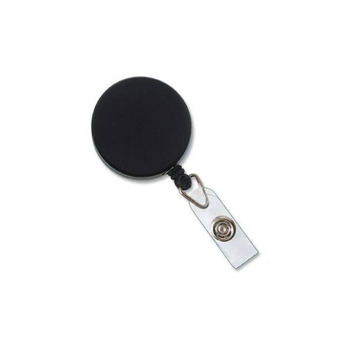 Metal Badge Reel with Wire Cord Image 1