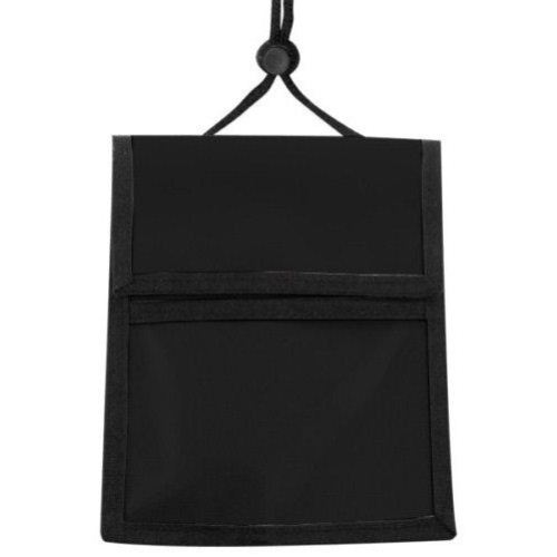 Black Multi-Pocket Credential Wallet Holder - 25pk (1860-3001) Image 1