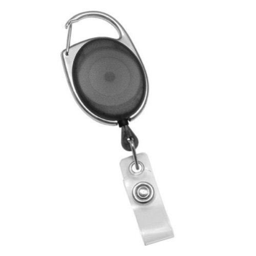Premier Translucent Carabiner Style Badge Reel