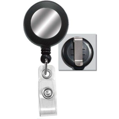 Round Badge Reel with Sticker Image 1